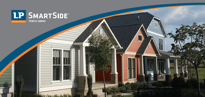 Lp smart side composite siding guardian inc of milwaukee for Lp smartside shakes coverage